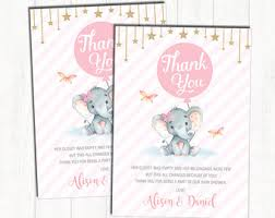 Thank You Cards For Baby Shower Gifts - peanut thank you etsy