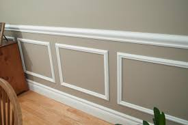 Two Tone Walls With Chair Rail Chair Rail Molding Designs 10634