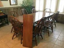 Pennsylvania House Dining Room Furniture Oak Dining Furniture Sets With Additional Leaves Ebay