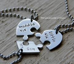 stainless steel puzzle necklace images 3 sister necklace three piece heart jigsaw puzzle necklace set jpg