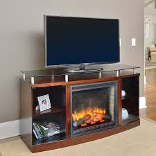 venture electric fireplace media console in mahogany venture26 ma