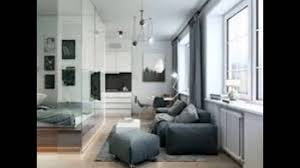 21 sqm micro apartment interior design idea with mezzanine bedroom