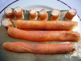 cuisiner saumon fumé recette bouchées au saumon fumé la cuisine familiale un plat