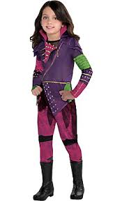 Tangled Halloween Costumes Adults Girls Mal Costume Disney Descendants Costumes