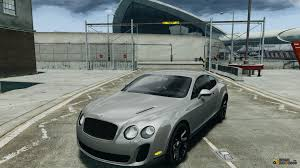 bentley car gold continental ss 2010 asi gold for gta 4