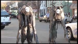 fantastically creepy u0027stilt spirit u0027 costume allows the wearer to
