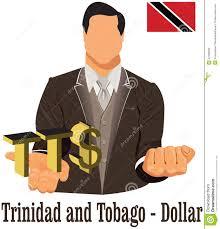 Flag For Trinidad And Tobago Trinidad And Tobago Currency Symbol Ttd Dollar Representing Money