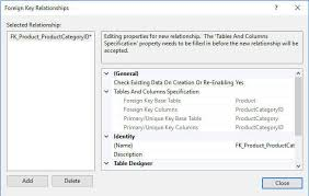 find all foreign keys referencing a table sql server how to create a sql server foreign key