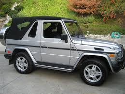 mercedes g wagon convertible for sale mercedes g 320 cabrio w463 1994 98 road