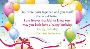 happy birthday twins wishes u0026 quotes 2happybirthday