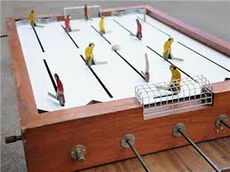 Table Top Hockey Game Antique Table Top Hockey Game Hockeygods