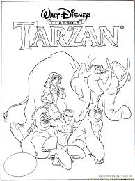 Inspirational Tarzan Coloring Pages 22 Free Colouring Pages