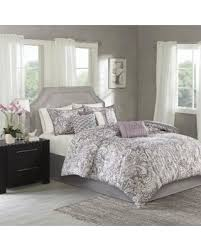 Mauve Comforter Sets Tis The Season For Savings On Madison Park Lira Printed Paisley