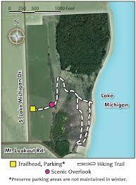 Lake Michigan Shipwrecks Map by Legacy Preserve At Clay Banks U2013 Door County Land Trust