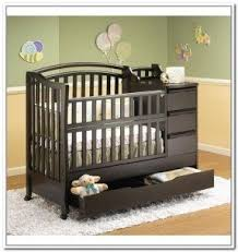 Convertible Crib With Storage Crib With Storage Drawer Foter