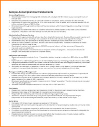 100 resume professional achievements examples samples resumes