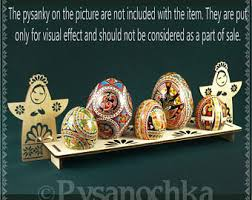 pysanky for sale pysanky stand etsy