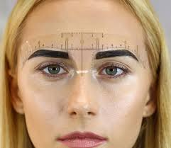 makeup classes in ta fl how to use s chuprys eyebrow measurement ruler eyebrow