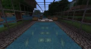 Minecraft Project Ideas Swimming Pool Minecraft Project