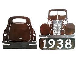 classic cars clip art smw283 custom metal classic car wall art chevy coupe sunriver