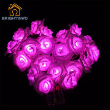get cheap battery operated lights roses aliexpress