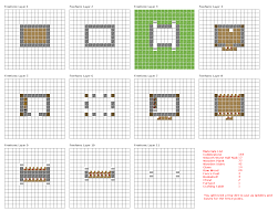 minecraft house blueprints layer by layer minecraft seeds pc