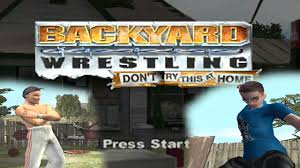 dont try this at home backyard wrasslin youtube