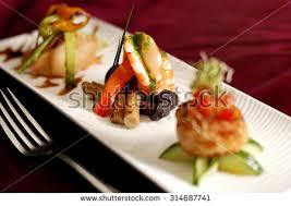 cuisine stock creative cuisine appetizer shrimp seafood shrimp ภาพสต อก 314687741