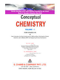 conceptual chemistry volume i for class xi by sk jain and shailesh