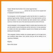 formal business letter format example ex business letter format