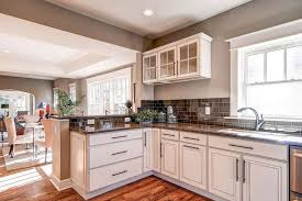 white kitchen cabinets brown countertops tropical brown granite kitchen countertops with white