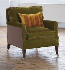 Traditional Armchairs Traditional Armchair Fabric On Casters Lausanne William