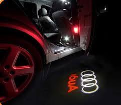 no damage wireless car door light ghost light welcome light