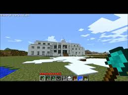 Plan Minecraft Maison by Minecraft Maison Blanche Youtube