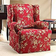 chair slipcovers canada reclining wingback chair slipcovers wing chair slipcover floral