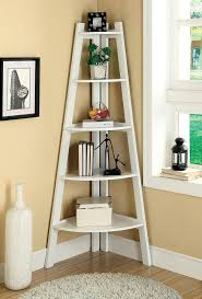 Sauder White Bookcase by Astonishing How To Make A Ladder Bookcase 42 On Sauder 5 Shelf