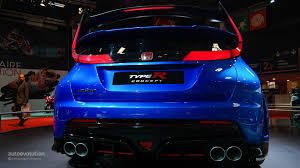 Honda Civic Type R Horsepower 2015 Honda Civic Type R Will Debut On March 2 Autoevolution