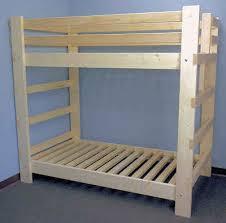 Half Bunk Bed Best 25 Size Bunk Beds Ideas On Pinterest Regarding Bed