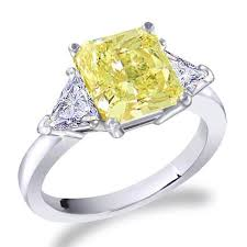 fancy yellow diamond engagement rings radiant fancy yellow diamond engagement ring diamond and gold