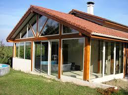Veranda Pour Terrasse Brm Aluminium Véranda Mixte Bois Aluminium