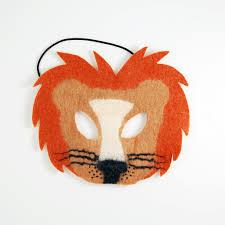 lion mask felted masaii s pride lion mask copper craftspring