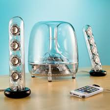 Coolest Speakers 5 Cool Transparent Speakers That Promise Crystal Clear Sound