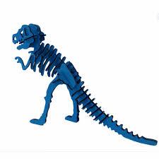 Halloween Skeleton Craft by Aliexpress Com Buy Halloween 3d Puzzle Dinosaur Skeleton Diy
