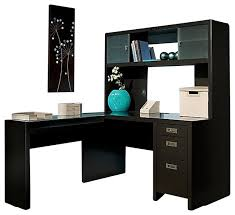 Kathy Ireland L Shaped Desk Kathy Ireland Bush New York Skyline L Shape Desk With Hutch
