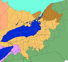 Northeast Map Usa by Great Lakes Facts And Figures The Great Lakes Us Epa