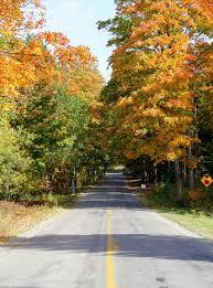 perfect fall foliage weekend trip northern michigan