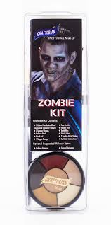airbrush makeup for halloween zombie makeup kit complete zombie character makeup kit