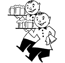 vintage martini clipart cute vintage waiters with beer image beer images graphics fairy