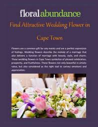 wedding flowers cape town find attractive wedding flower in cape town by floral abundance