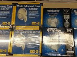 ecoplus wall mount fan ecoplus hurricane 16 3 speed wall mount oscillating fan ebay